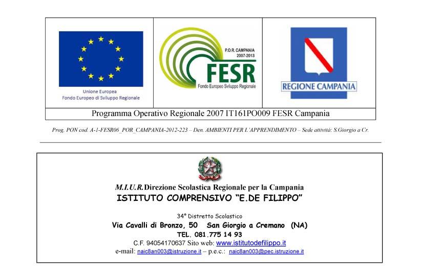 Microsoft Word - Bando Progettista PON FESR.doc